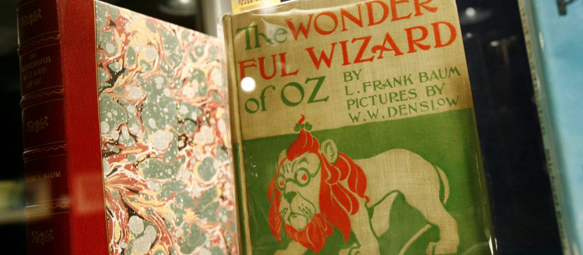 FILE PHOTO: A first edition of Frank L. Baum's